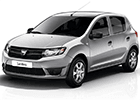 Prahové lišty Dacia Sandero