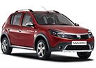 Boční lišty dveří Dacia Sandero Stepway