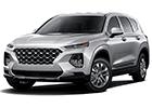 Deflektor kapoty Hyundai Santa Fe