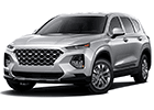 Textilní autokoberce Hyundai Santa Fe