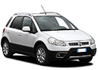 Textilní autokoberce Fiat Sedici