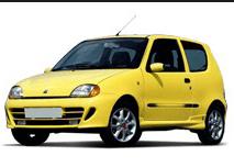 Boční lišty dveří Fiat Seicento