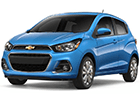 Vana do kufru Chevrolet Spark