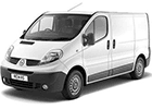 Ofuky oken Renault Trafic