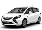 Prahové lišty Opel Zafira