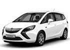 Vana do kufru Opel Zafira