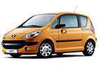 Vana do kufru Peugeot 1007
