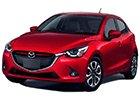 Boční lišty dveří Mazda 2
