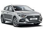 Boční lišty dveří Hyundai Accent