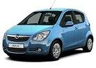 Boční lišty dveří Opel Agila
