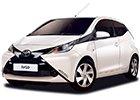 Boční lišty dveří Toyota Aygo