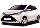 Vana do kufru Toyota Aygo
