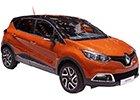 Boční lišty dveří Renault Captur