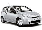 Vana do kufru Citroen C2