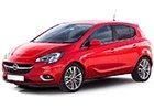 Boční lišty dveří Opel Corsa