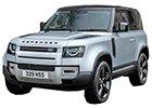 Střešní nosič Land Rover Defender