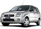 Vana do kufru Subaru Justy
