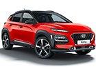 Boční lišty dveří Hyundai Kona