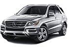 Textilní autokoberce Mercedes ML