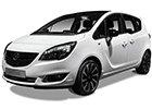 Nerezové opěrky nohy pro Opel Meriva
