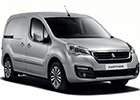Vana do kufru Peugeot Partner