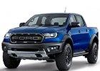 Prahové lišty Ford Ranger