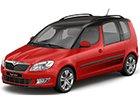 Boční lišty dveří Škoda Roomster