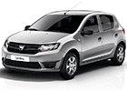 Boční lišty dveří Dacia Sandero