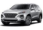 Deflektory kapoty pro auta Hyundai Santa Fe