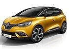 Kryt prahu pátých dveří Renault Scenic