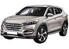 Kryt prahu pátých dveří Hyundai Tucson