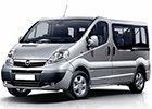 Prahové lišty Opel Vivaro