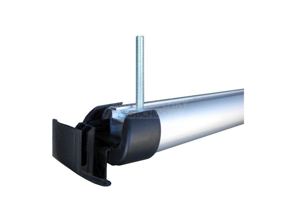 T-adaptéry pro nosiče lyží HAKR (40 mm) • v sadě 4 ks