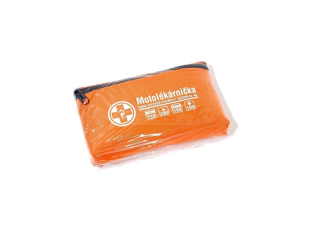 Motolékárnička textilní brašna 216/2010 Sb.MD (expirace 4 roky)