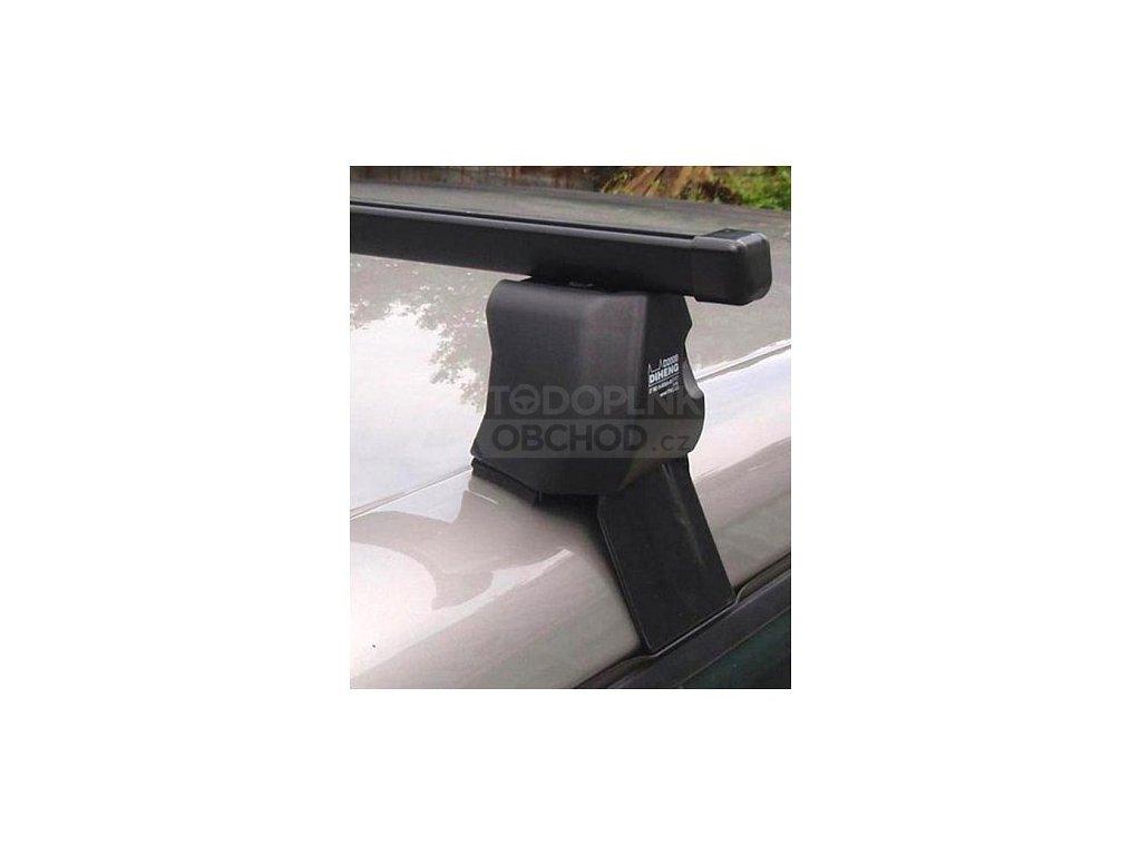Střešní nosiče Škoda Fabia II 2007-2014 krátká htb (na holou střechu) • ocel • Diheng