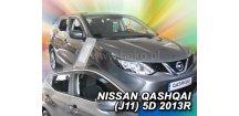 Ofuky oken Nissan Qashqai J11 2014-2018 (+zadní)