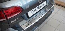 Kryt prahu pátých dveří VW Golf VII 2013-2016 Variant • nerez