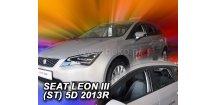 Ofuky oken Seat Leon 2013-2018 (+zadní) ST Combi