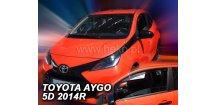 Ofuky oken Toyota Aygo II 5-dvéř. 2014-2018