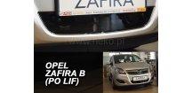 Zimní clona Opel Zafira B 2007-2011
