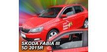 Ofuky oken Škoda Fabia III 2014-2017