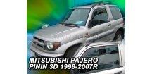 Ofuky oken Mitsubishi Pajero Pinin 3D 1999-2007