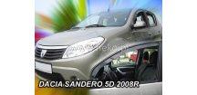 Ofuky oken Dacia Sandero/Stepway 2009-2012