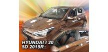 Ofuky oken Hyundai i20 II 2014-2018 (+zadní)