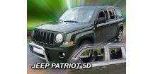 Ofuky oken Jeep Patriot 2007-2017 (+zadní)