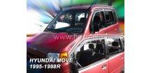 Ofuky oken Daihatsu Move 1994-1998 (+zadní)