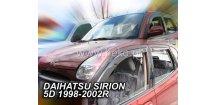 Ofuky oken Daihatsu Sirion 2005-2018 (+zadní)