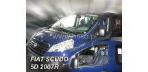 Ofuky oken Fiat Scudo II 2007-2016