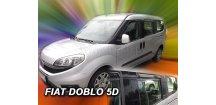 Ofuky oken Fiat Doblo II 2010-2018 (+zadní)
