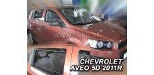 Ofuky oken Chevrolet Aveo 2011-2015 (+zadní) htb